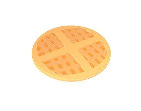 3D asset Hong Kong Style Waffle v2 001