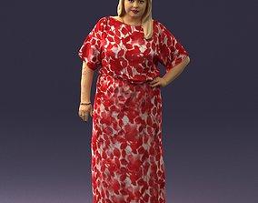 Fat woman 0075 3D Print Ready figurine