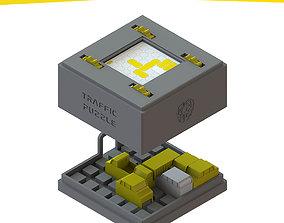 TRAFFIC PUZZLE 3D print model