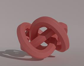 3D print model Knots science