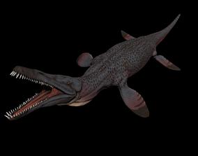 Pliosaurus Pack 3D model animated