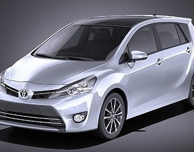 3D model Toyota Corolla Verso 2017 VRAY