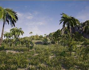 Green Island in UE4 3D