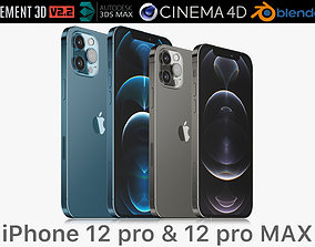 Apple iPhone 12 PRO and 12 pro MAX 3D