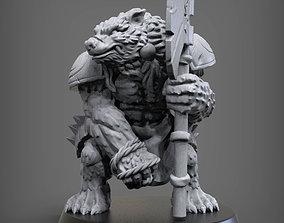 Werebear 3D printable model
