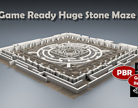 Stone Maze 3D model