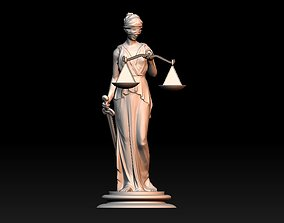 3D print model Themis Lady of Justice