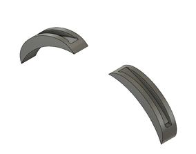 3D printable model Headband adaptor for slide on V5 Ears