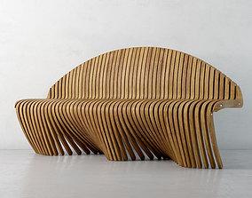 3D model bench 26 am135