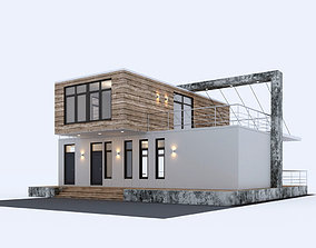 3D Sea Container house