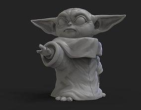 3D printable model baby Baby yoda