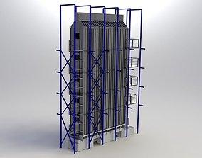 Grain-dryer 3D