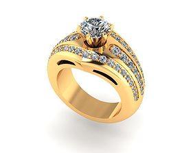 3D printable model Wedding Ring R0022