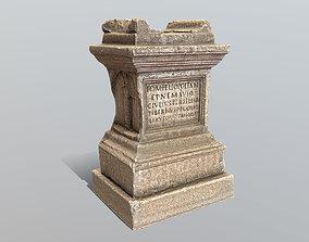 3D asset Roman Altar