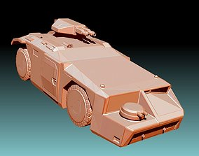 APC - M577 Armored Personnel Carrier - 3D Print