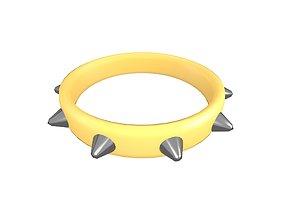 3D asset Spiked Collar v1 016