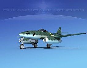 3D model Messerschmitt ME-262A1 Swallow V02