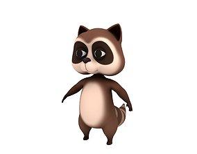 Raccoon Character 3D model