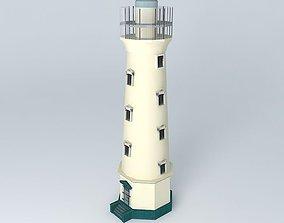 California Lighthouse 3D model