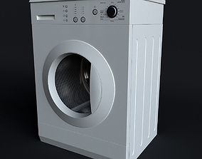 3dmax 3D model Washing machine