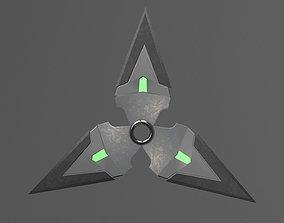3D asset Dark Shuriken