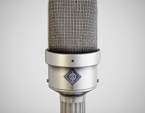 3D model Microphone - Neumann M49