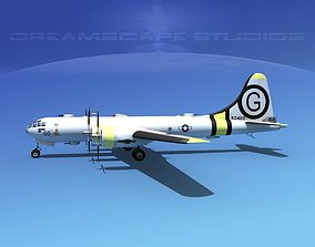3D Boeing B-29 Superfortress Miss Angelica