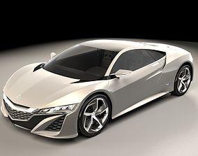 Acura NSX 2013 3D