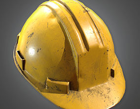 Hard Hat Construction 3D asset