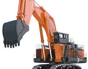 3D Excavator Hitachi EX8000
