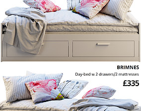 Ikea Brimnes 6 bed 3D model