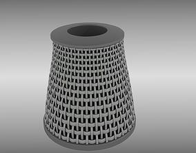 Air filter 3D