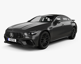 Mercedes-Benz AMG GT63 S 4-door coupe 2019 3D model