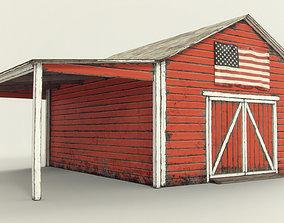 Farm Barn 3D asset