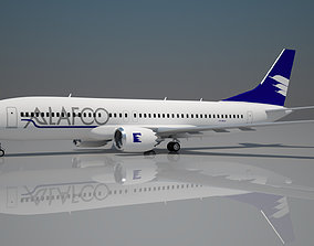 Alafco Boeing 737 max 8 3D model