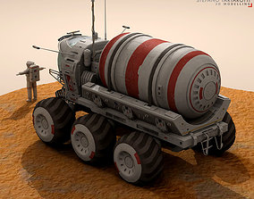 3D model Lunar vehicles collection