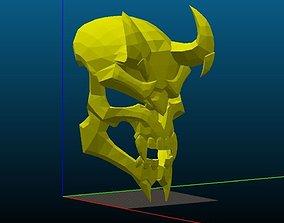 head 3D print model Reaper HellFire Mask