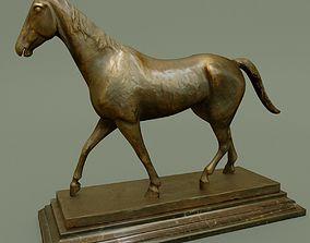 statuette Horse Statuette U 3D