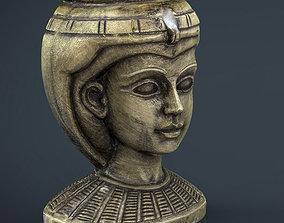 Egyptian Head 3D asset