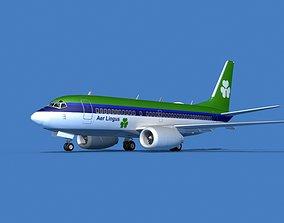 3D model Boeing 737 MAX 7 Aer Lingus
