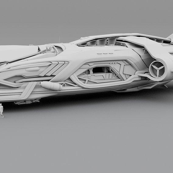 Spaceship Frigate