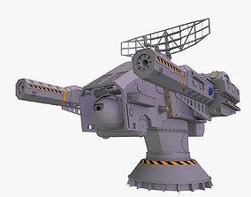 turret Heavy laser 3d model