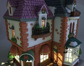 masonry 3D model Toy house