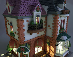 masonry 3D model Toy house