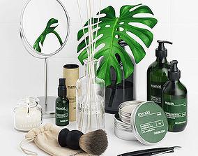 Meraki Shaving Set 3D