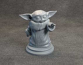 Baby Yoda - Star Wars The Mandalorian 3D printable model