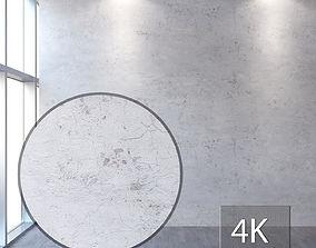 Concrete wall 351 3D asset