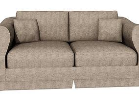 Grey sofa 247 3D model