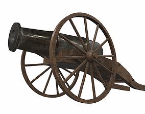 Cannon 3 3D model