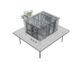 3D Modular transformer station